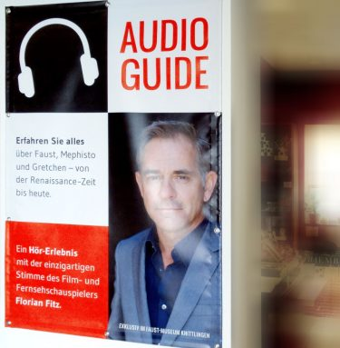 Unseren Audioguide hat Florian Fitz besprochen!