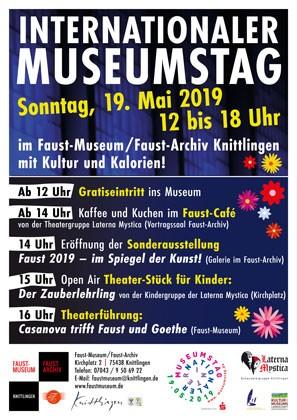Internationaler Museumstag Faust Museum 2019