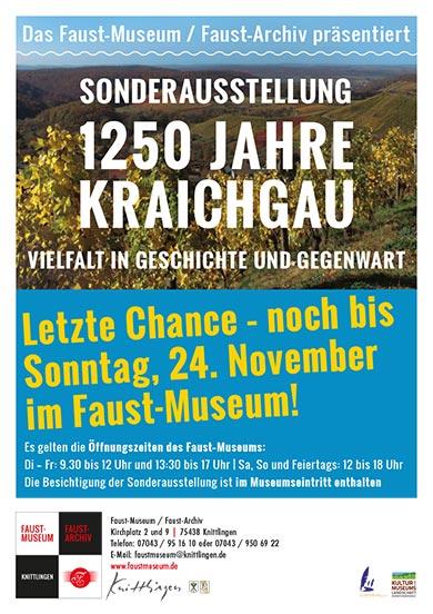Sonderausstellung 1250 Jahre Kraichgau