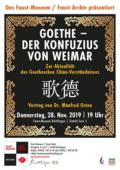 Goethe - Der Konfuzius von Weimar