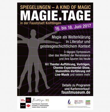 Plakat zur Veranstaltung MAGIE.TAGE