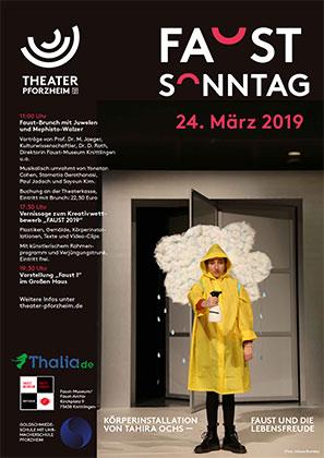 Faust Sonntag im Theater Pforzheim, 24. März 2019